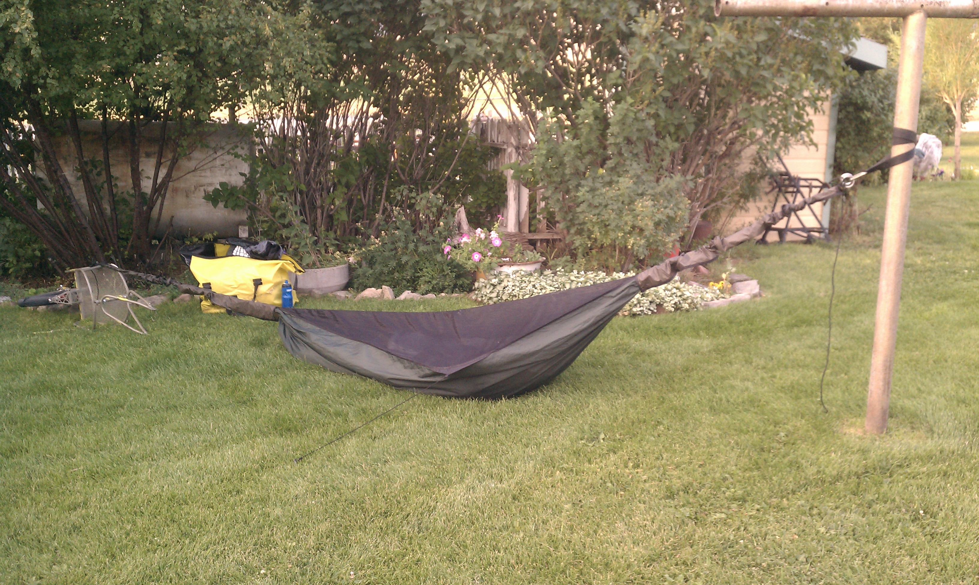 Great Divide Mountain Bike Route - ground hammock