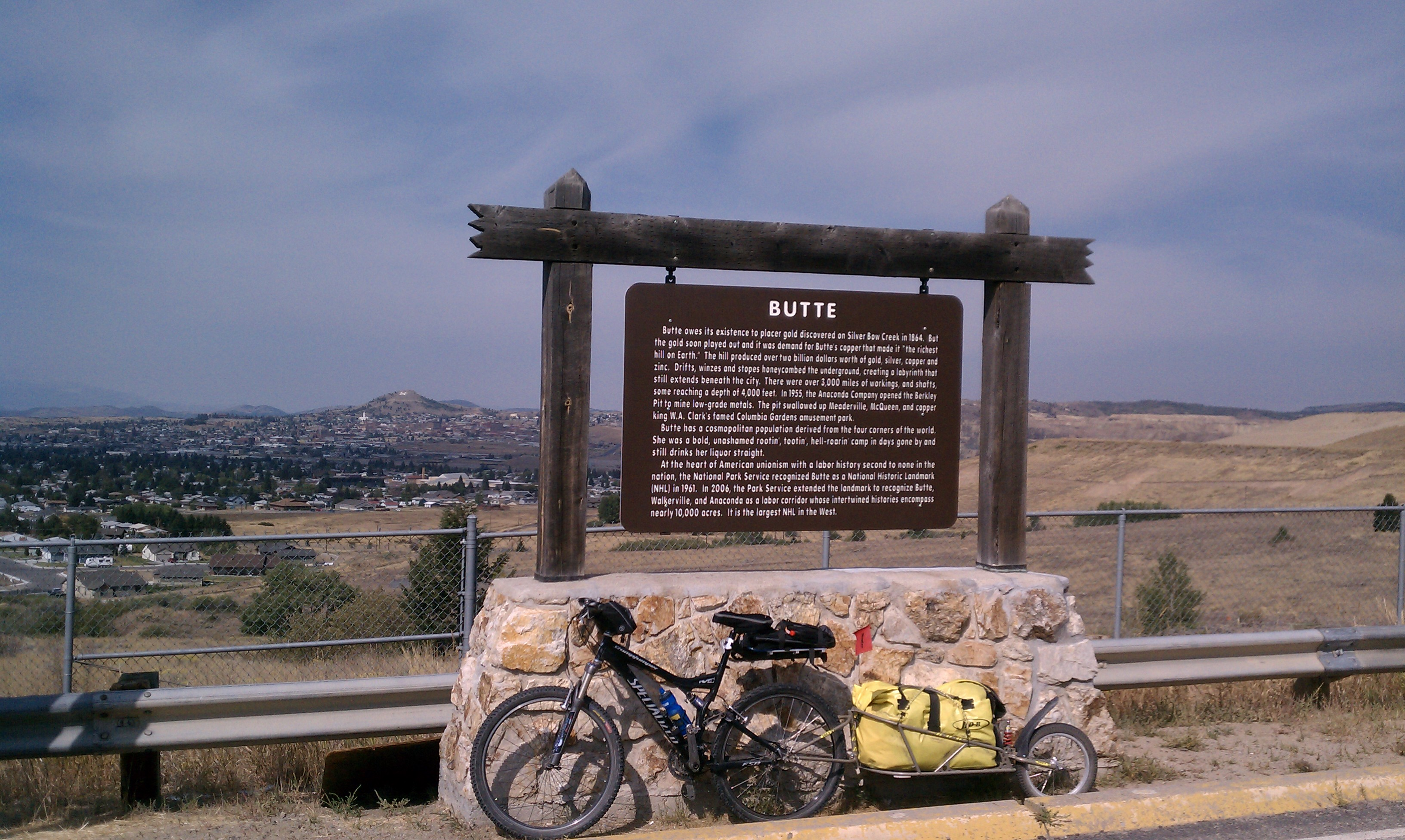 Great Divide Mountain Bike Route Butte