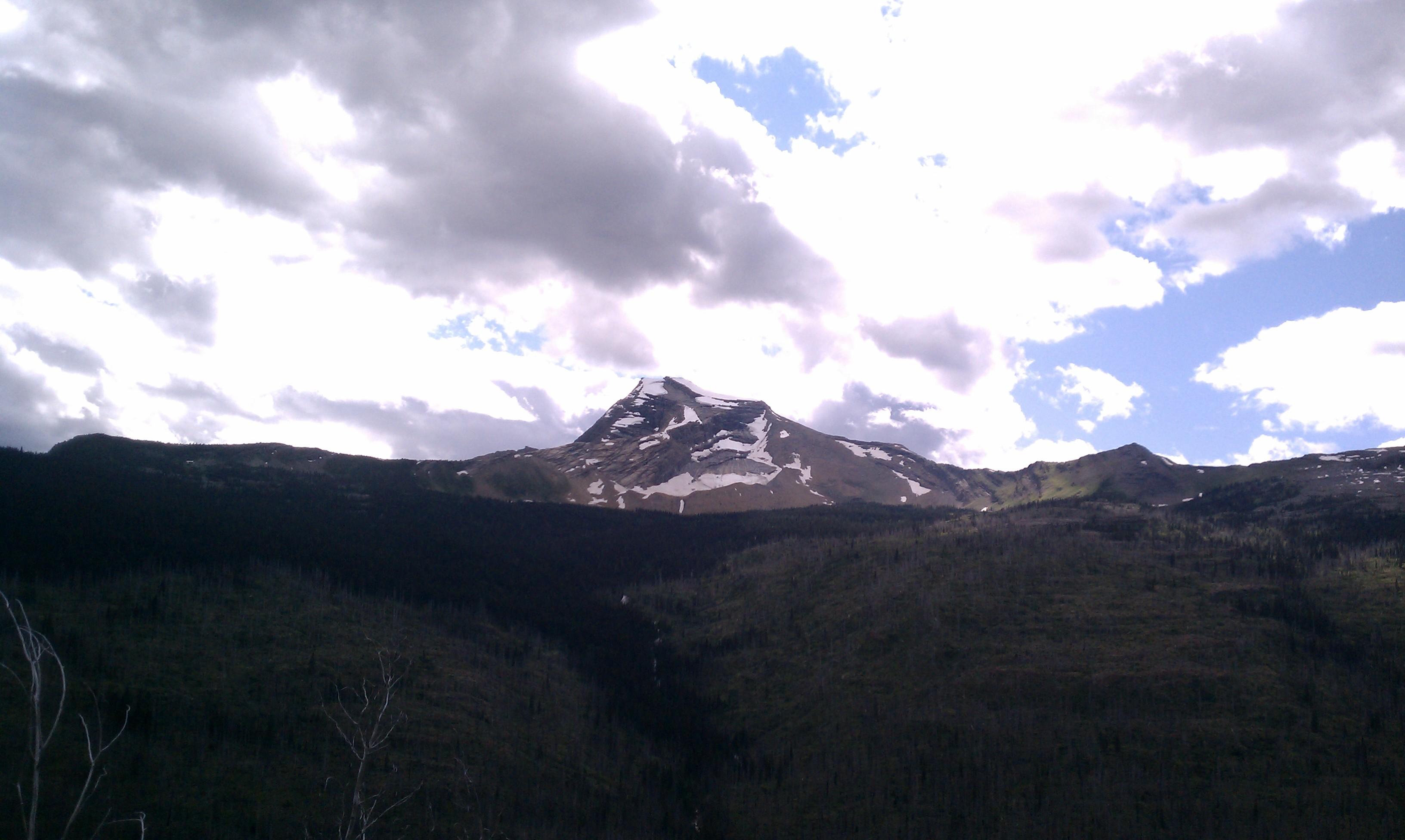 Great Divide Mountain Bike Route - Glacier National Park
