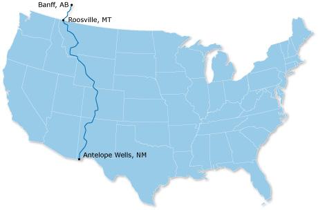 ACA GDMBR Map